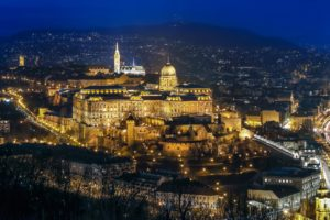 visit budapest in 2 days - castle