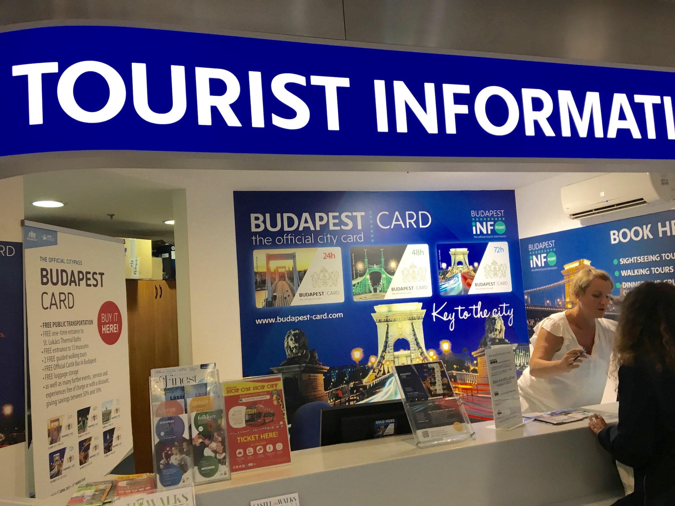 Tourist Information Point Budapest