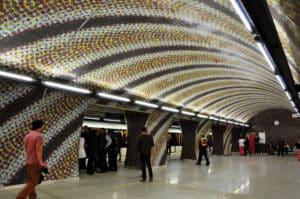 Budapest Metro Gellért Station