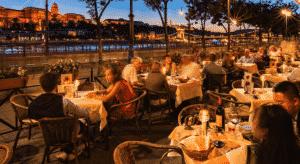 dunacorso restaurant in budapest