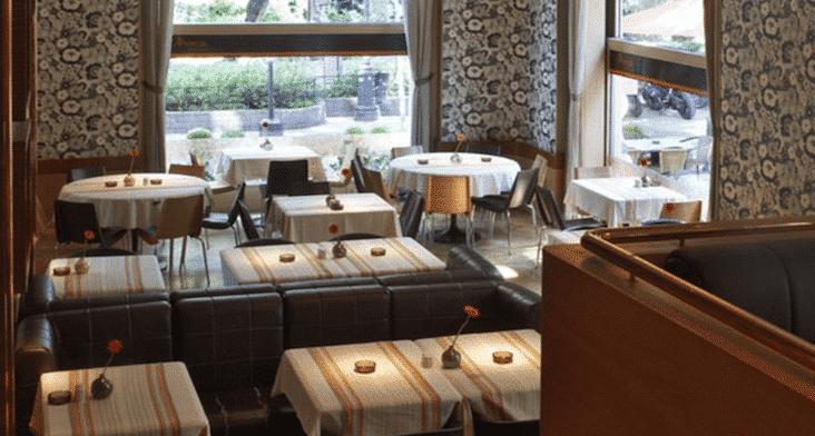 restaurant budapest menza interior