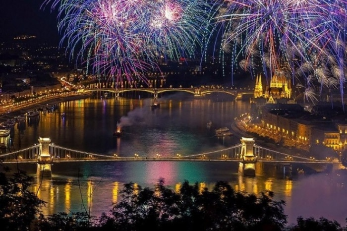 budapest national day august 20 fireworks