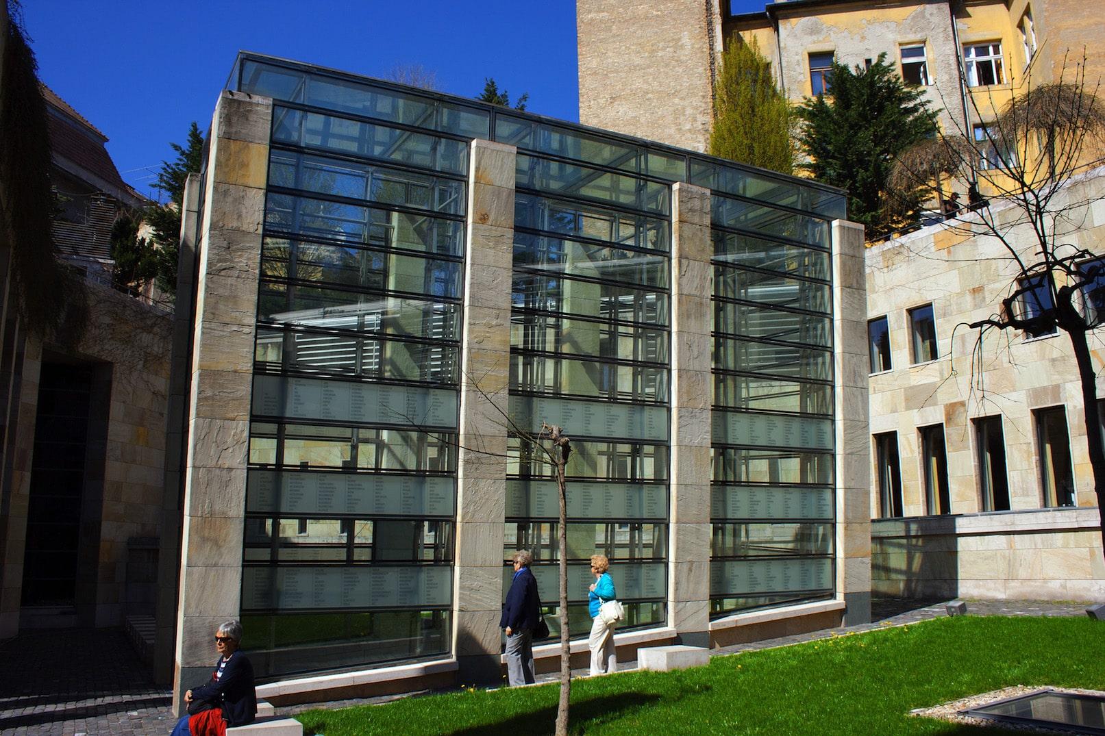 Budapests Museum Holocaust memorial