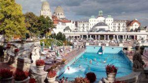 Budapest Gellért baths