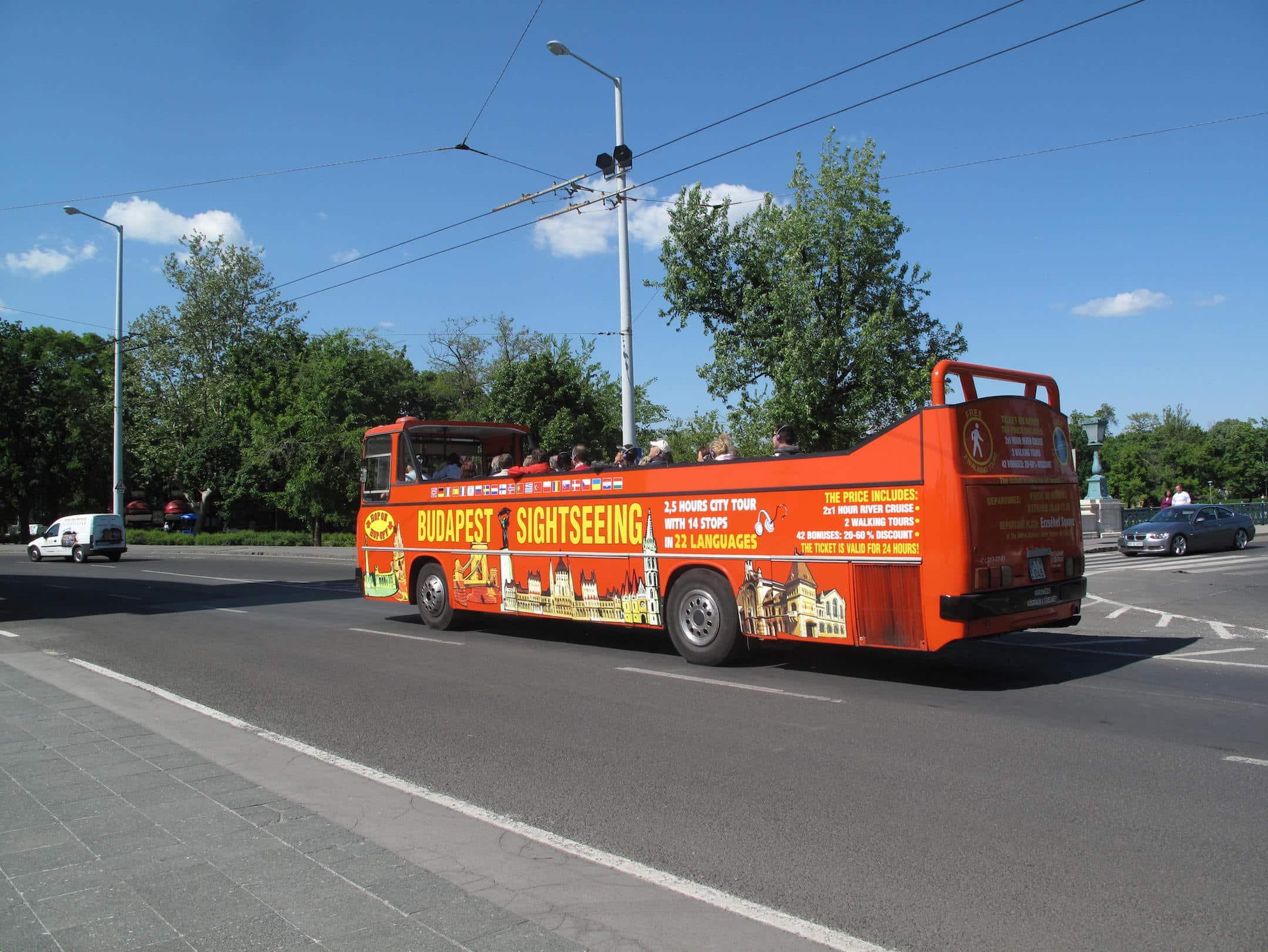 Budapest Bus tour City