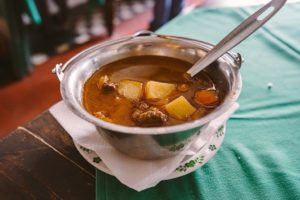 hungarian cuisine Goulasch soup