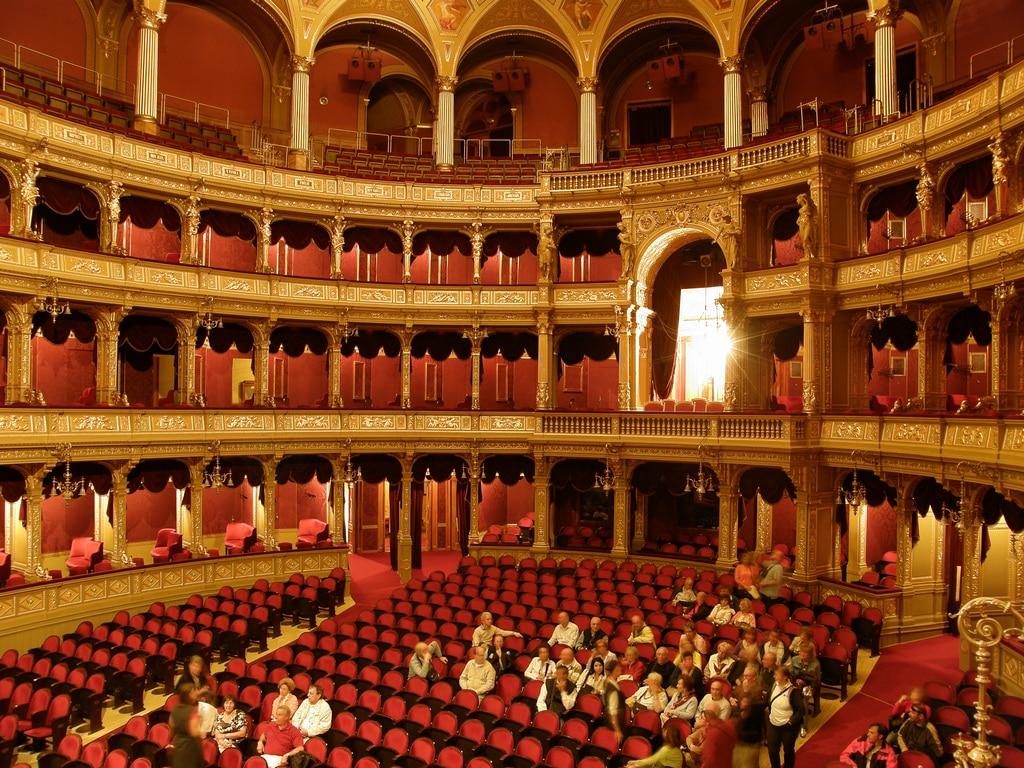 budapest opera interior
