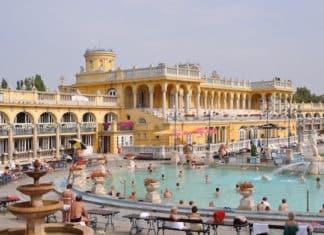 Budapest baths Szechenyi