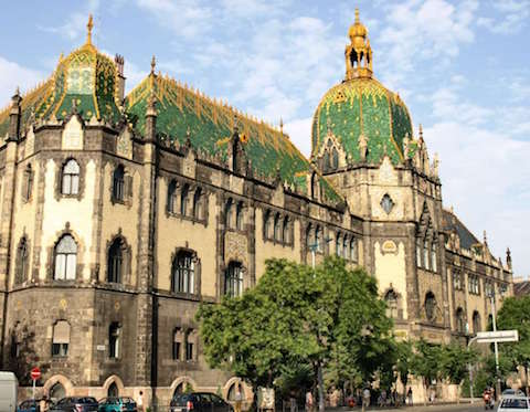 Budapest museum Applied arts