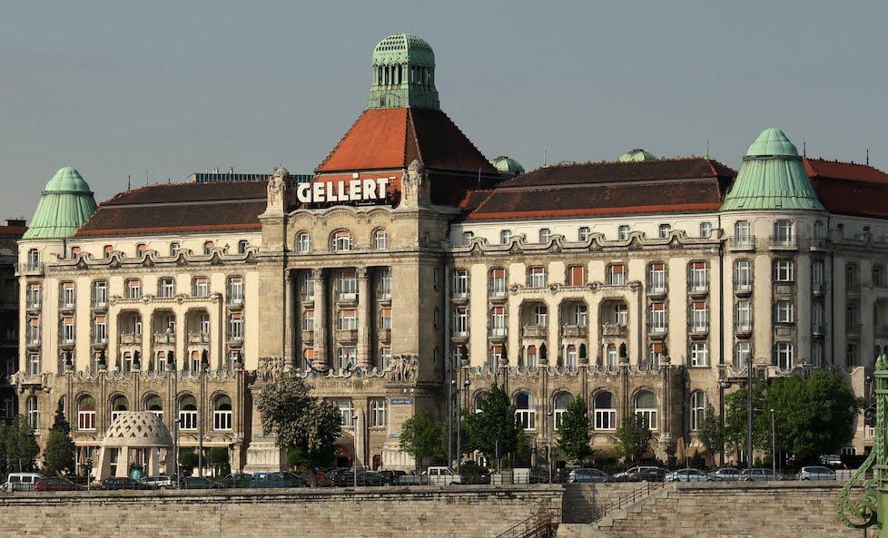 Hotel gellért Budapest