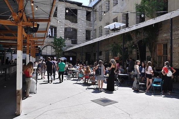 Antkert ruin bar Budapest