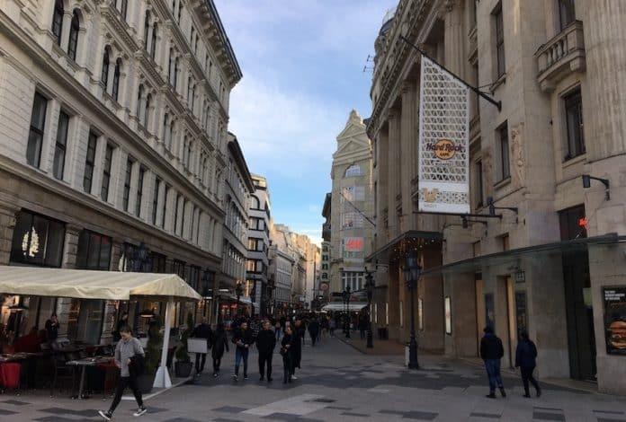 budapest vaci street